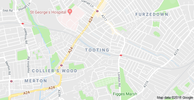 Tooting rubbish clearance boundary