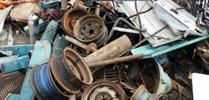 Scrap metal collection London